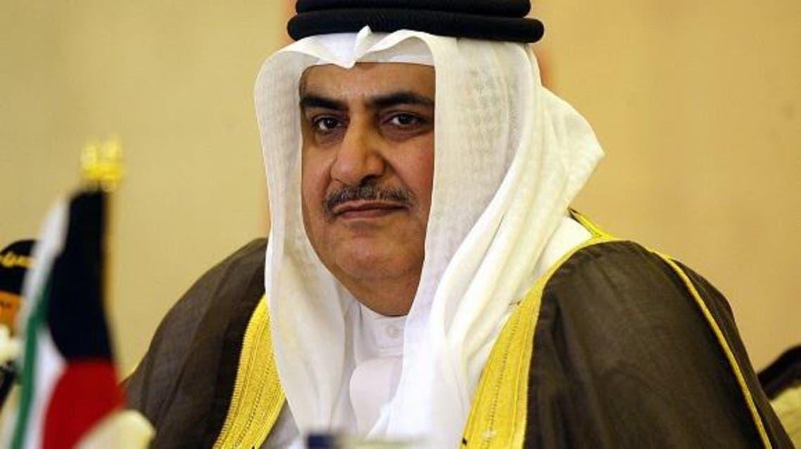 الشيخ خالد بن أحمد بن محمد آل خليفة وزير خارجية البحرين