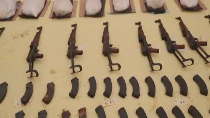 #البحرين تحبط محاولة تهريب أسلحة ومتفجرات من إيران