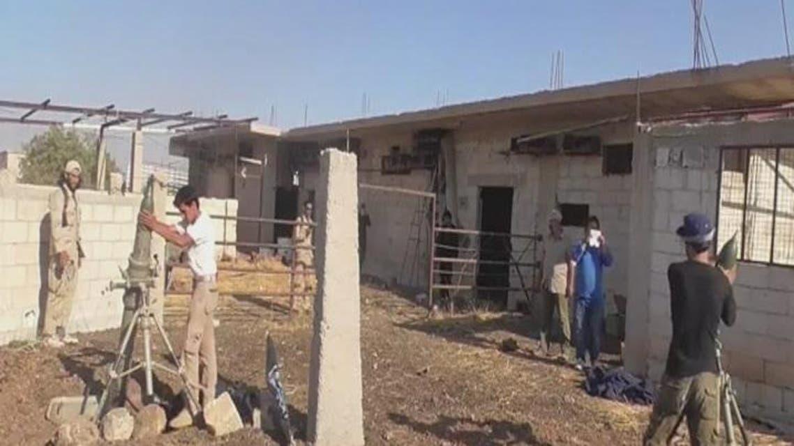 THUMBNAIL_ النظام يحاول إعاقة تقدم المعارضة في درعا بالبراميل