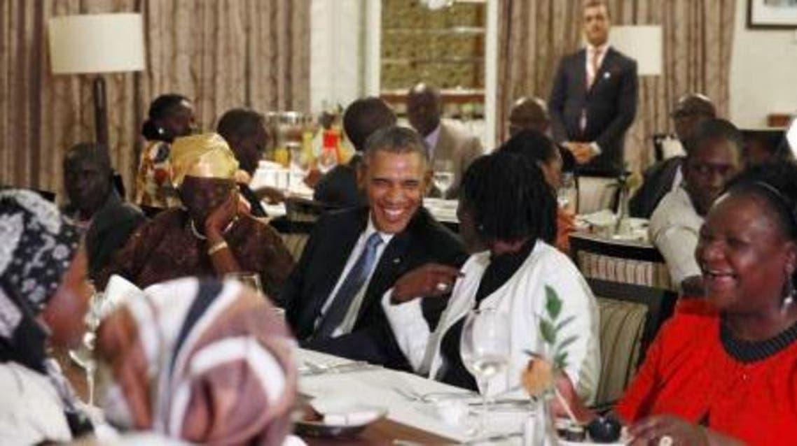 اوباما في كينيا