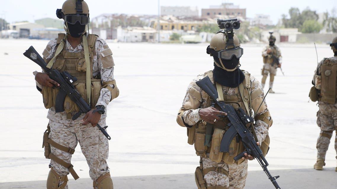 قوات سعودية في عدن