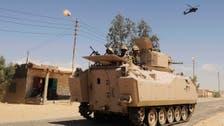 Egyptian army says it has killed 60 militants in Sinai