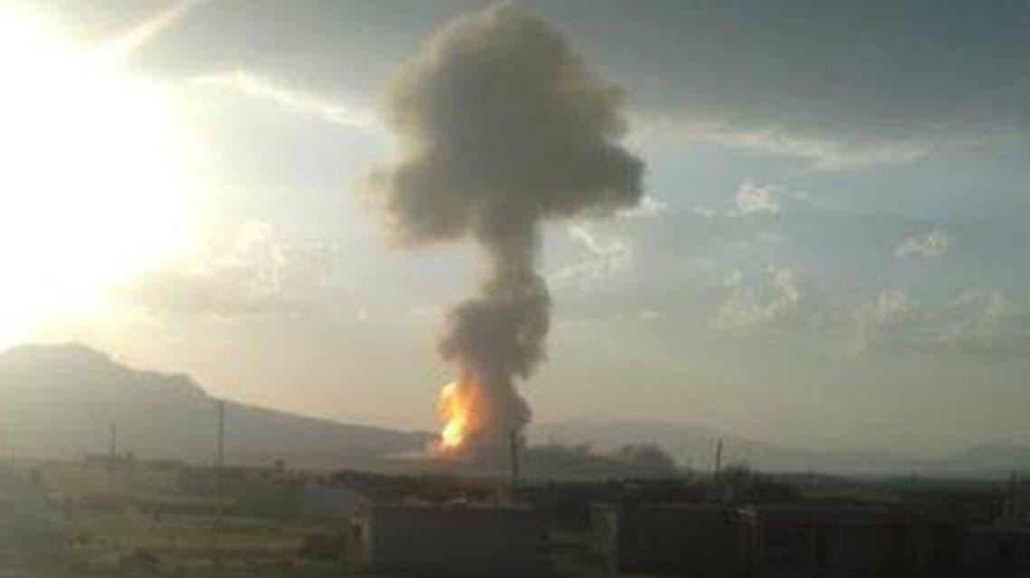 تفجير خط غاز في تركيا