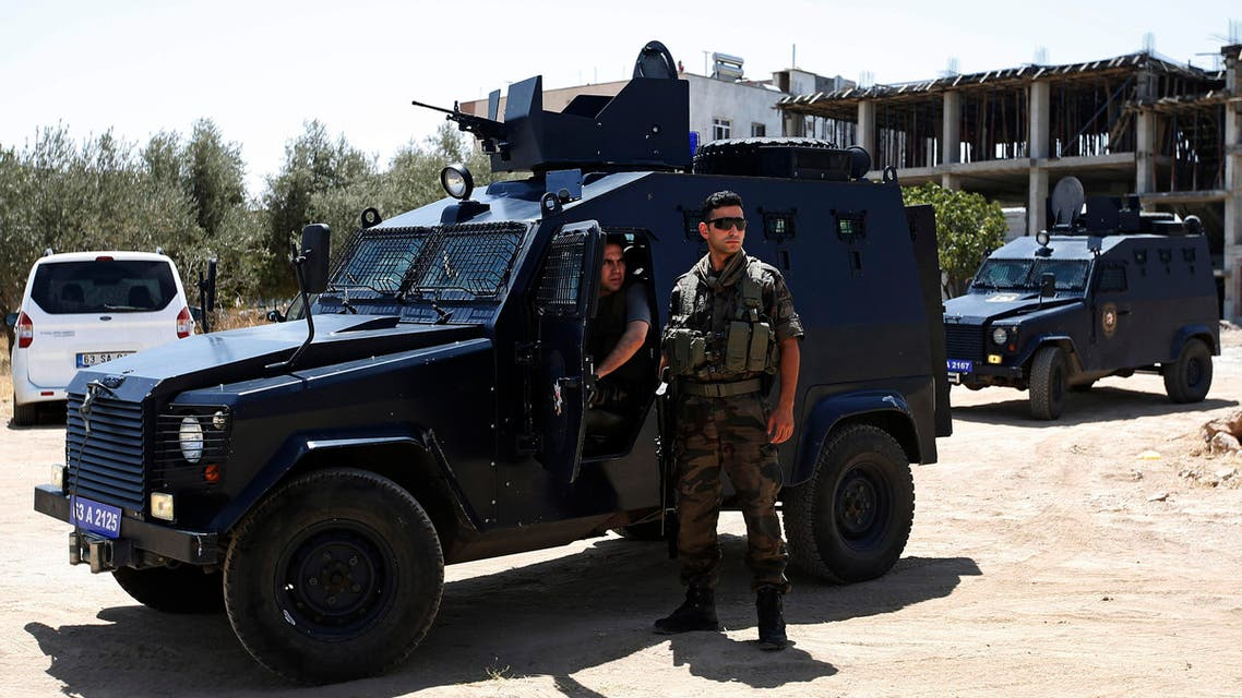 Turkey's state-run news agency says police have raided homes in an Ankara neighborhood, detaining at least 15 people suspected of links to the Islamic State group as Turkey presses ahead with a major security sweep.  Since Friday, Turkey has been carrying out airstrikes against IS targets in Syria and Kurdish rebel positions in northern Iraq. It has also arrested hundreds of people with suspected links to violent extremists.  On Sunday, it called for a meeting of its NATO allies to discuss threats to its security, as well as its airstrikes.  The Anadolu Agency says at least 15 people, including a number of foreign nationals, were detained Monday in an operation in Ankara's Haci Bayram neighborhood. It did not give details of the foreigners' home countries. AP