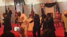 Obama shows off dance moves with Kenyan pop stars