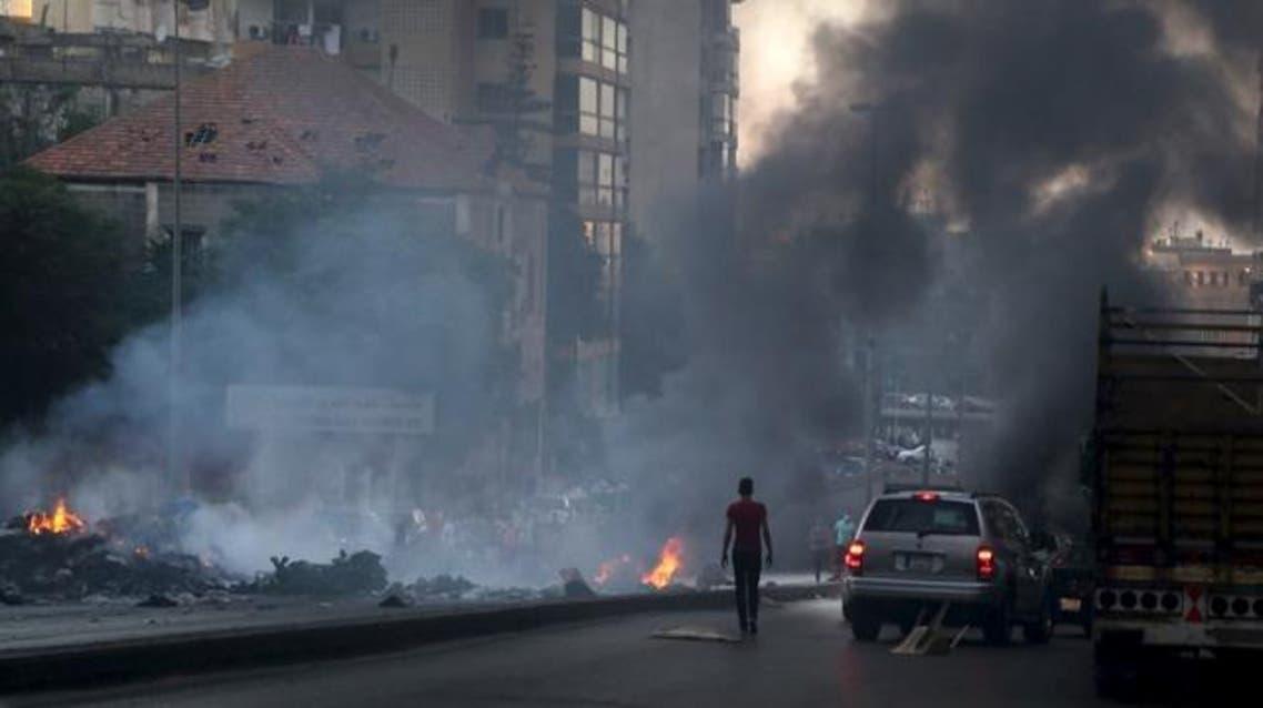 بيروت النفايات تظاهرات