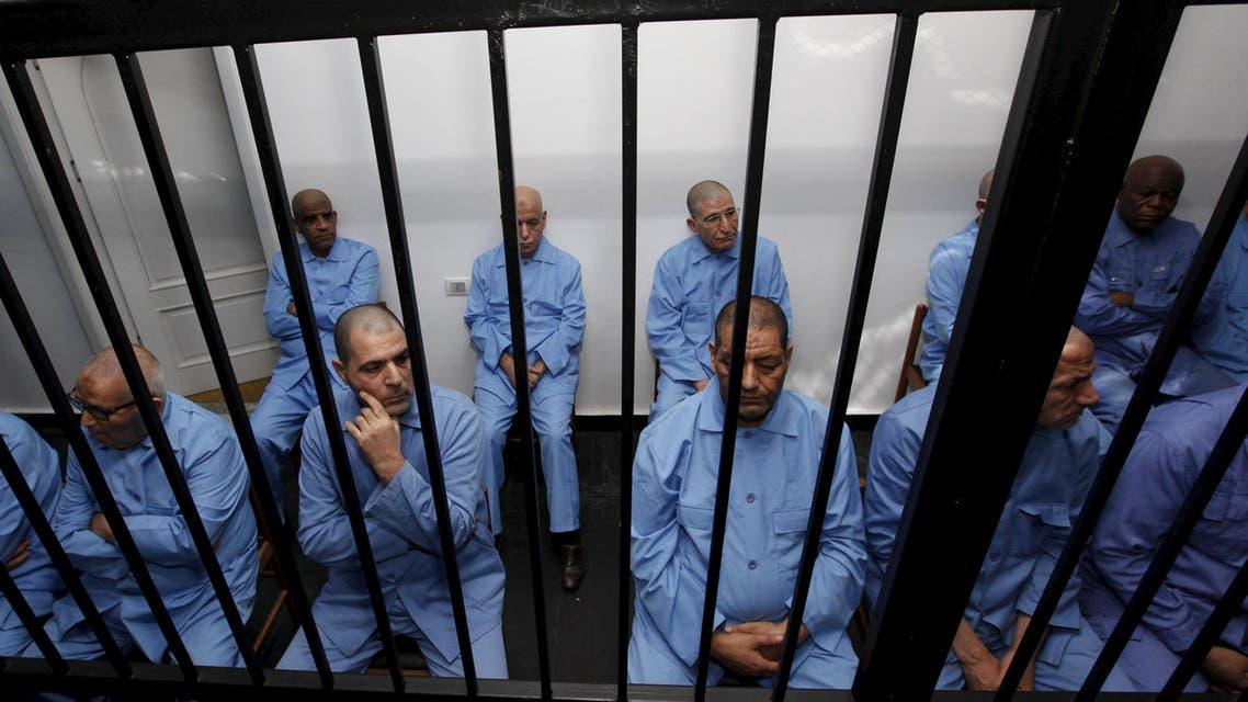 ليبيا محاكمة القذافي