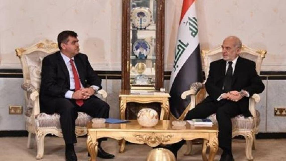 الجعفري مع السفير التركي