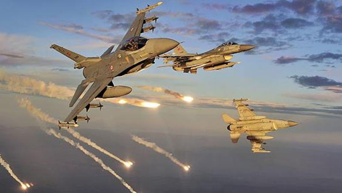 Turkish jets AFP
