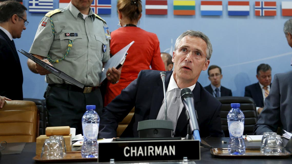 NATO Secretary General Jens Stoltenberg chairs a meeting of the North Atlantic Council (NAC) following Turkey's request for Article 4 consultations, at the Alliance headquarters in Brussels, Belgium, July 28, 2015. (File: Reuters)