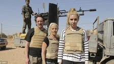 Australian reality TV stars 'shot at by ISIS' in Syria