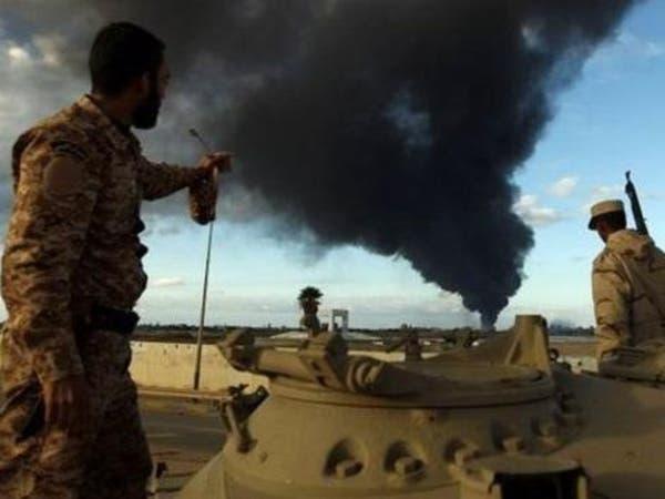 """جيش ليبيا يقصف مجددا """"سرايا بنغازي"""" بالسدرة ورأس لانوف"""