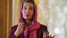 EU's Mogherini in Iran to discuss nuclear deal, region
