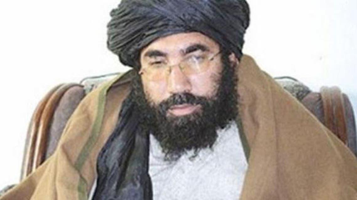 الملا عمر زعيم حركة طالبان