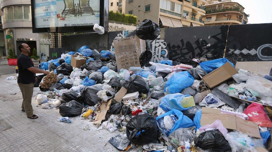 لبنان بيروت نفايات