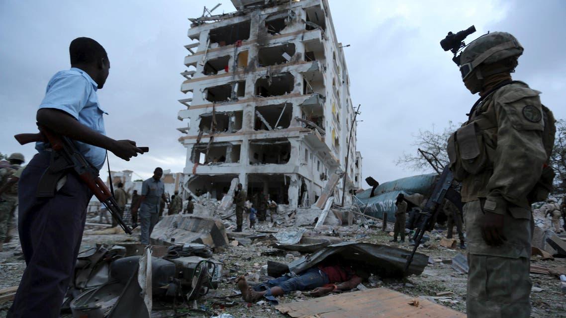 """هجوم ارهابي لـ""""حركة الشباب"""" على فندق في مقديشو"""