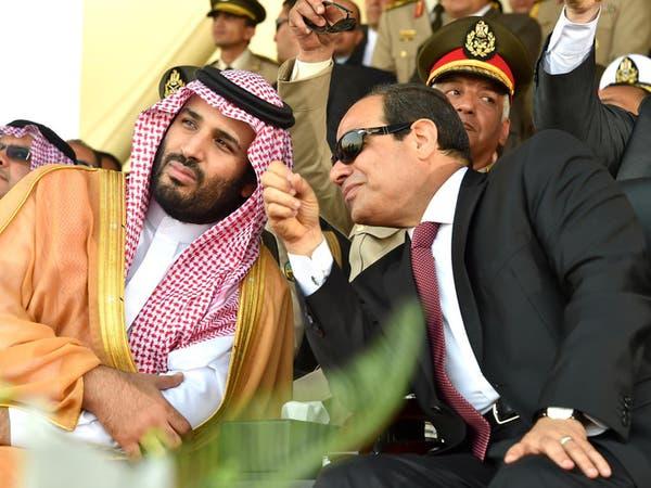 السيسي يبحث مع ولي العهد السعودي تعزيز العمل المشترك