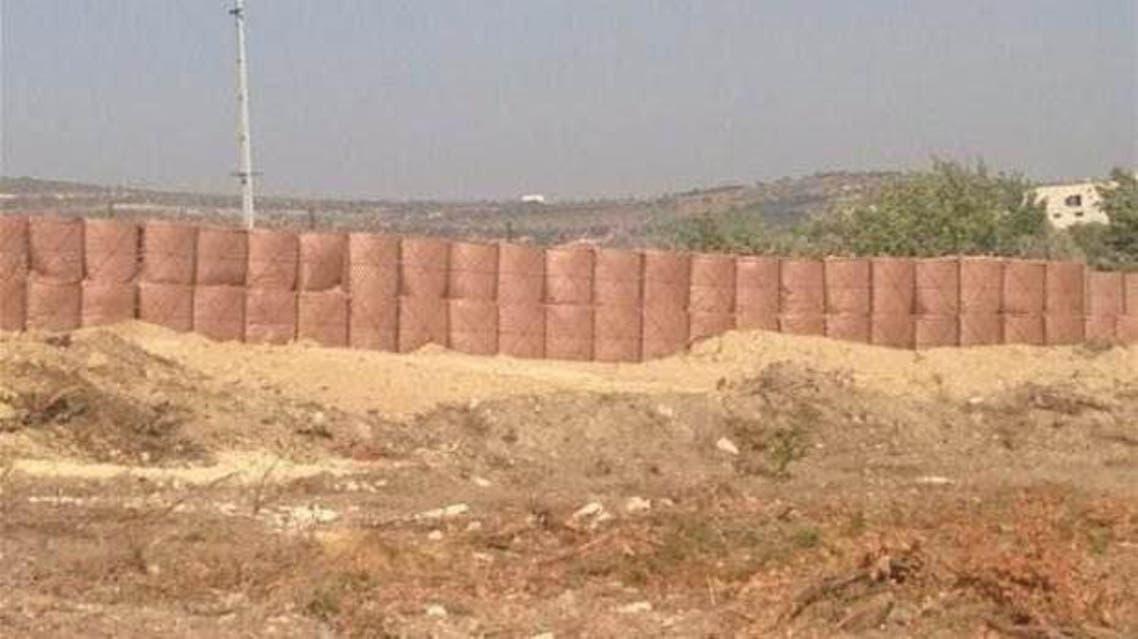 جدار مقاوم للصواريخ على الحدود السورية التركية