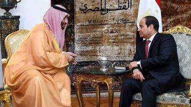 ولي العهد السعودي يزور مصر الأحد