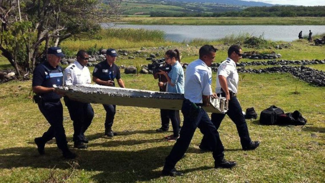 Malaysia has sent a team to verify whether plane debris washed up on a French Indian Ocean island is from missing flight MH370 AFP