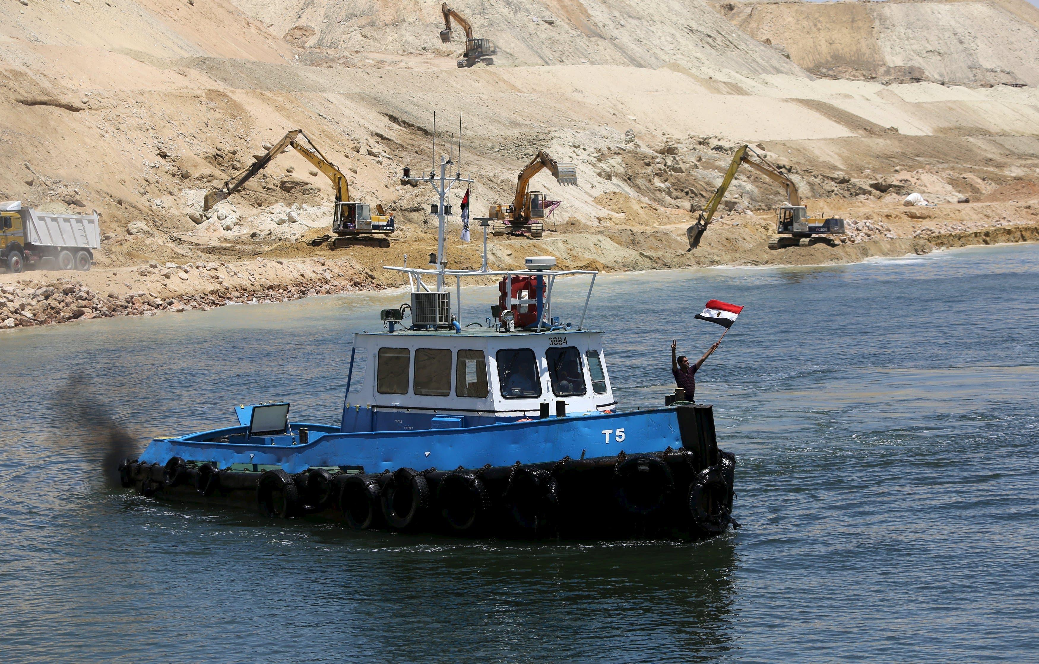 Egypt Suez canal Reuters
