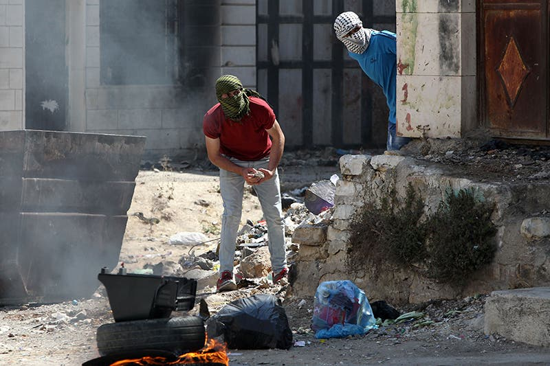 مواجهات بين شبان فلسطينيين والجيش الاسرائيلي
