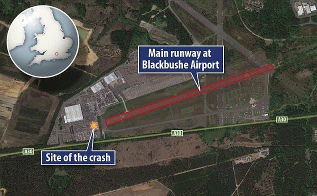سانحه سقوط هواپیمای شخصی سعودی
