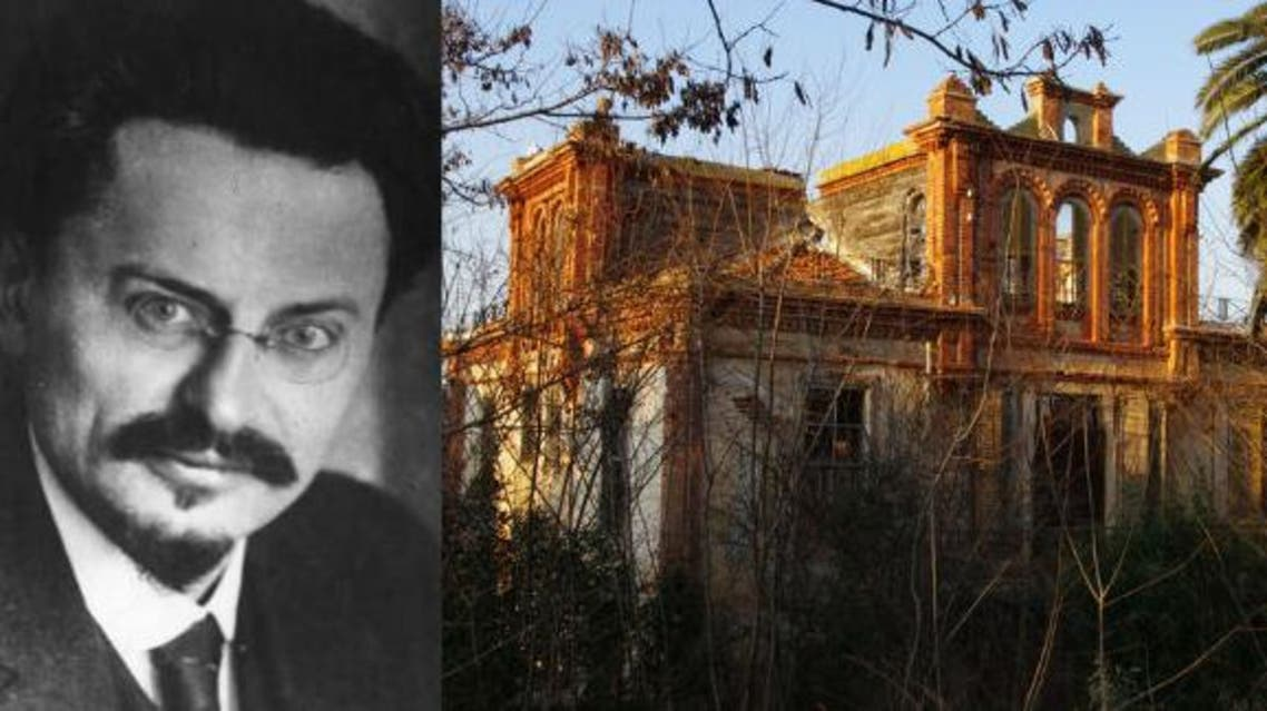 The three-story, five-bedroom home, situated on the city's scenic Buyukada Island, is notable for being the site where Trotsky lived for four and-a-half years