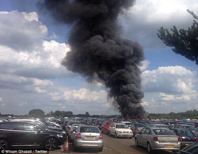 مقتل 4 بتحطم طائرة سعودية في بريطانيا