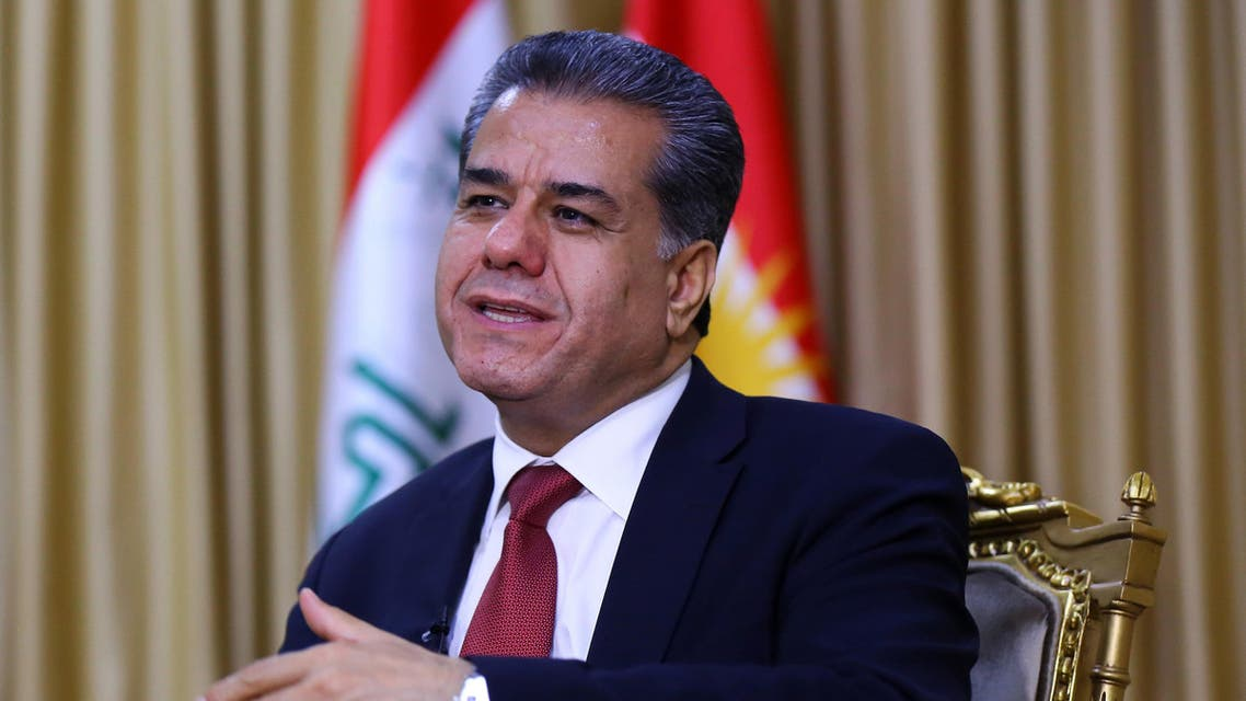 Kurdistan's head of foreign relations, Falah Mustafa, (AP)