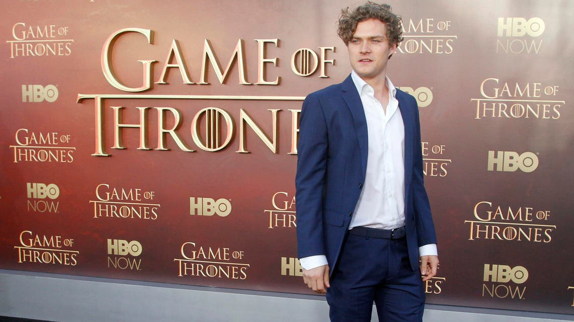 """Finn Jones arrives at the Season 5 premier of """"Game of Thrones"""" at the War Memorial Opera House, Monday, March 23, 2015, in San Francisco. AP"""