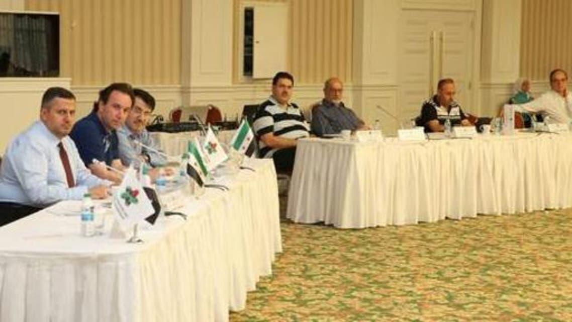 اجتماعات الائتلاف السوري المعارض