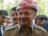 مسعود بارزاني: بغداد غير جادة في حل المشاكل مع أربيل