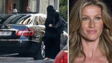 Supermodel Gisele Bundchen mocked for 'wearing burqa in Paris'