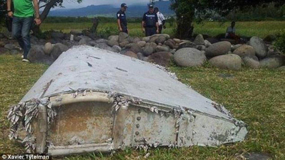 حطام الطائرة الماليزية