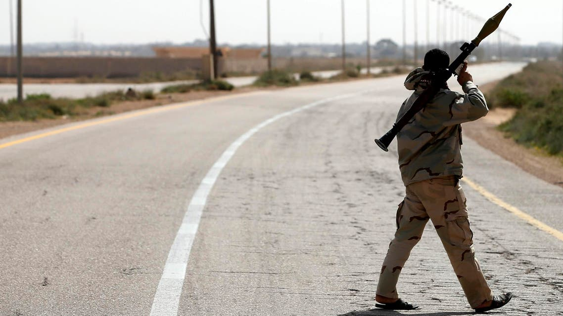 clashes in eastern Libya between forces loyal to its internationally recognized government and Islamist groups REUTERS