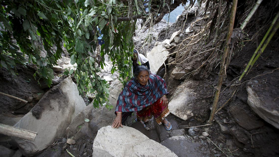 Landslides in Nepal