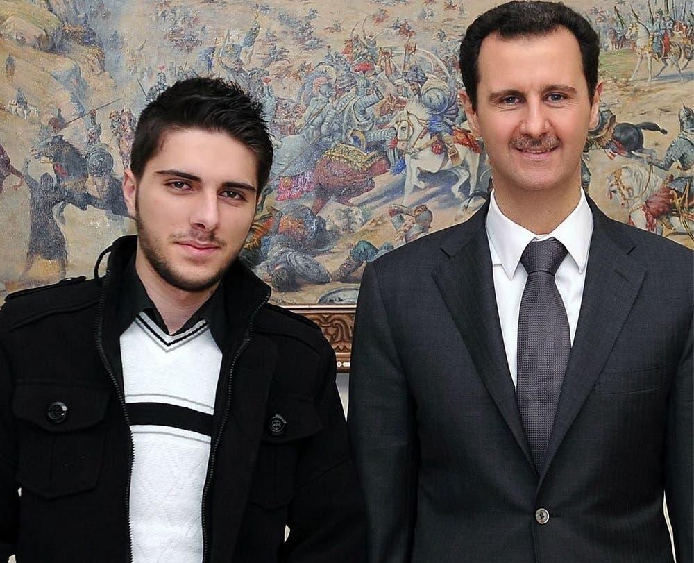 محمد وائل الحلقي ورئيس النظام  في سوريا