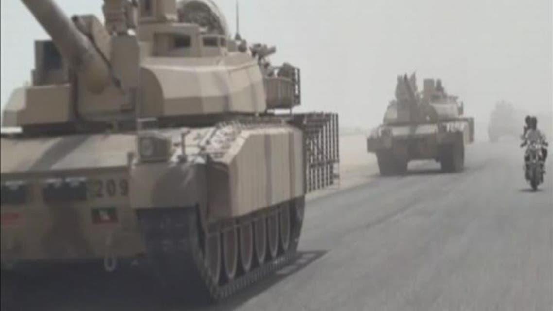 THUMBNAIL_ وصول تعزيزات عسكرية كبيرة إلى قاعدة #العند