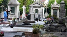 40 Christian tombs desecrated at cemetery in eastern France