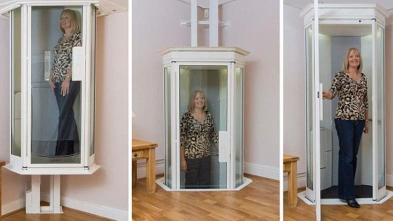 Star trek style home elevator could replace stairlifts for Elevators home