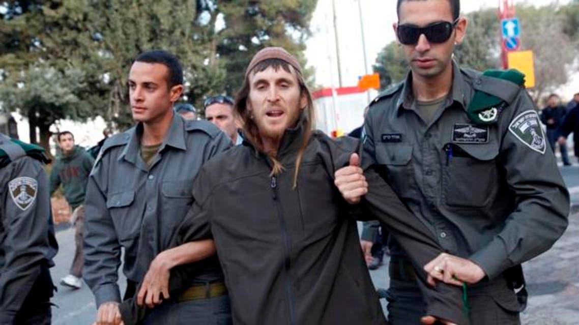تطرف يهود اعتقال