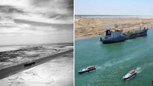 Before and after: A look at Egypt's Suez Canal, past and present