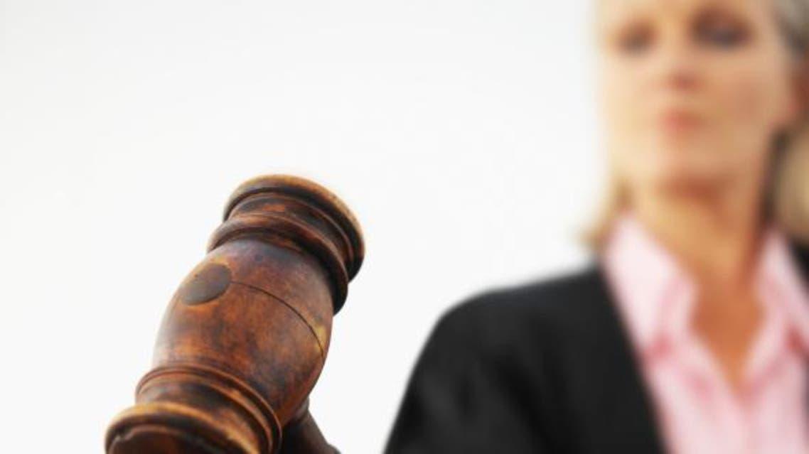 قاضية محكمة