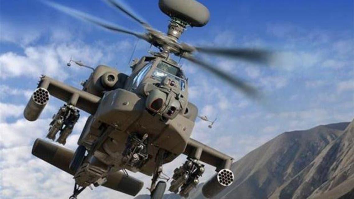 طائرات أباتشي من القوات السعودية