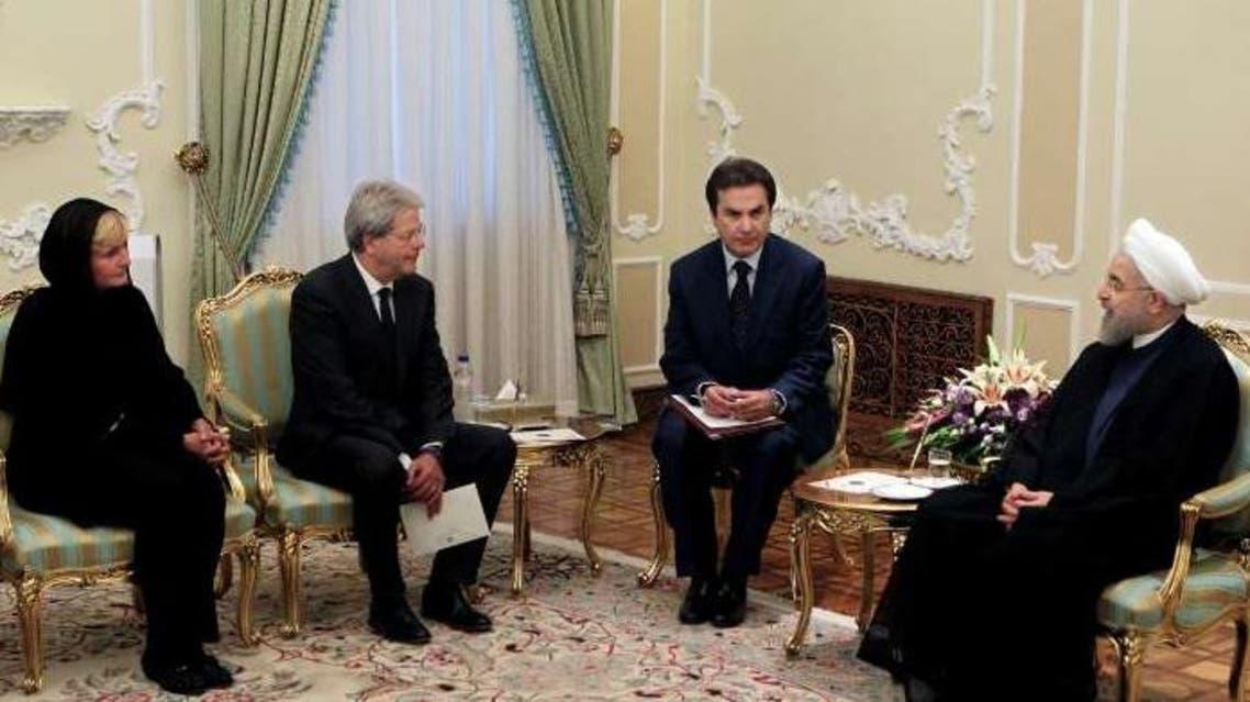 وزير الخارجية الإيطالي في إيران