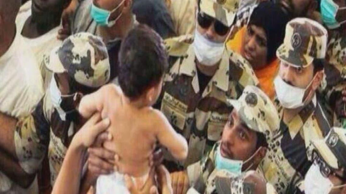 THUMBNAIL_ صور لقوات الطوارئ الخاصة ومساعدتها للحجاج
