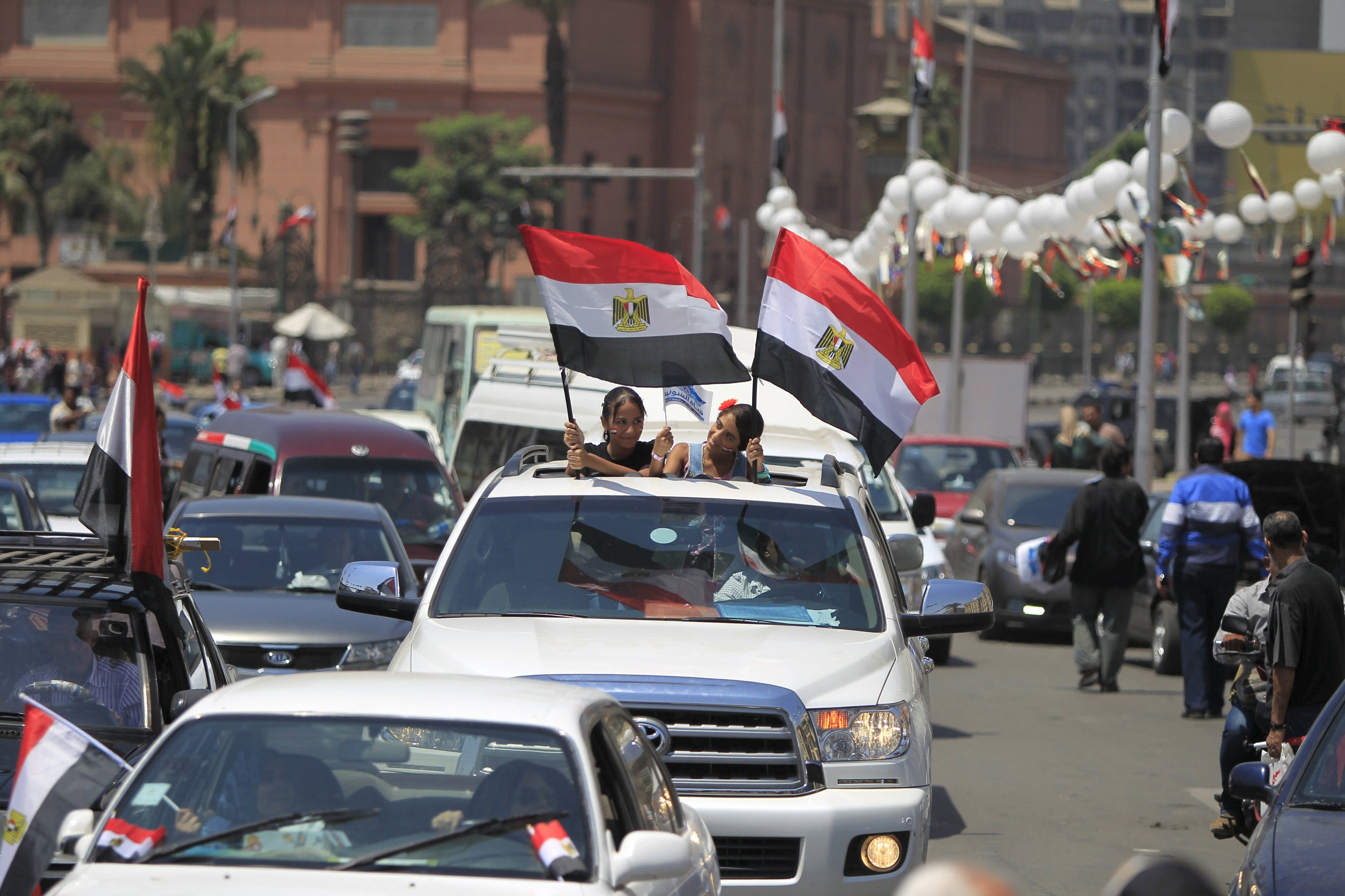 احتفالات في القاهرة بمناسبة تدشين قناة السويس الثانية