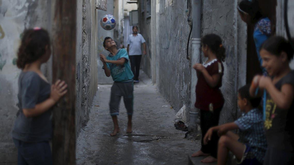 جانب من الحياة اليومية في غزة