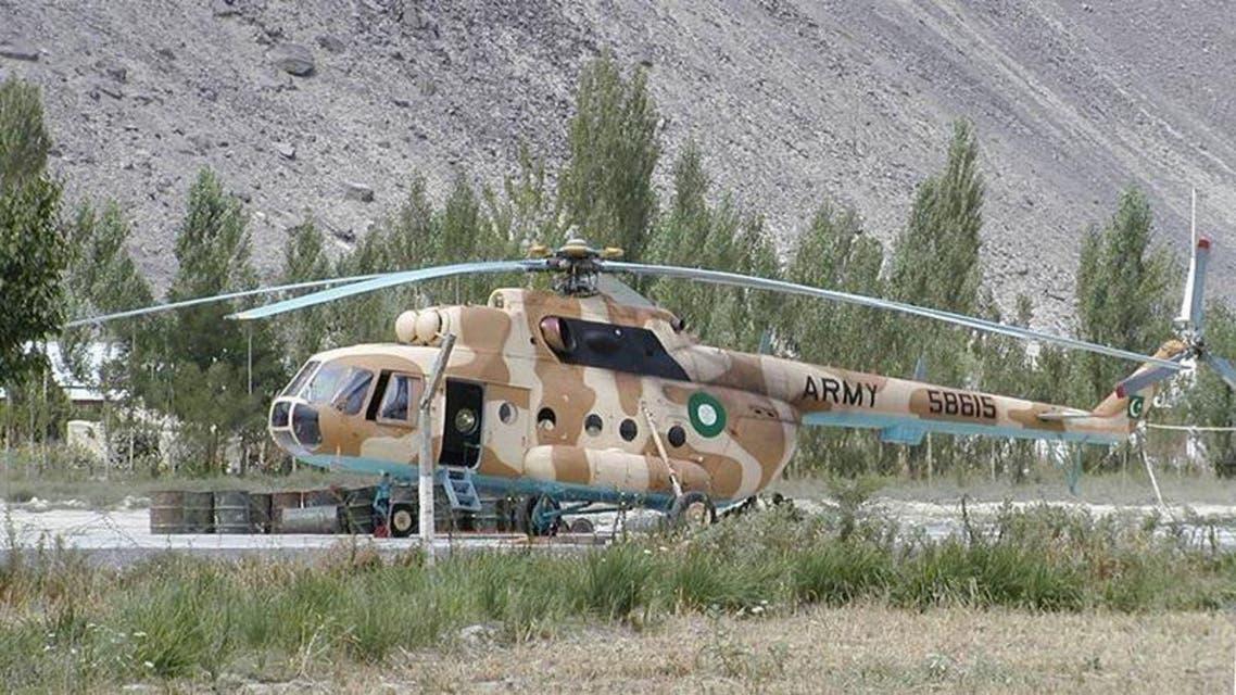 Pakistan Helecopter
